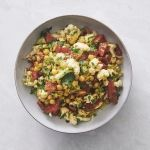 Cauliflower melon salad
