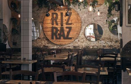 Hyggeligt selskabslokale hos Rizraz til leje