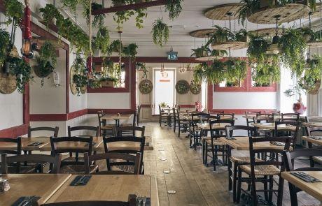 Naturligt lyst restaurantlokale - Rizraz